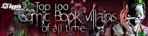 100VIllains
